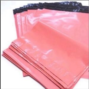 Other - 150 Polymailers 10x13 in Flamingo Pink